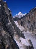 Rocky Mountains from Light Plane  Denali National Park & Preserve  USA