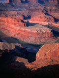 Overhead of Canyon and River  Dead Horse Point State Park  USA