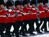 Coldstream Guards on Parade  London  United Kingdom