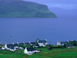 Small West Coast Village  Isle of Skye  Scotland