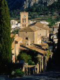 Pollenca Village from the Calvary Steps  Mallorca  Balearic Islands  Spain