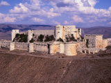 The Remarkably Well Preserved 800 Year Old Crac Des Chevaliers ( Castle of the Knights )  Syria