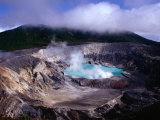 Volcan Poas Parque Nacional  Cartago  Costa Rica