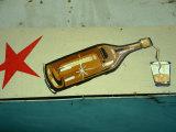 Advertisement for Cuban Rum in Old Havana  Havana  Cuba