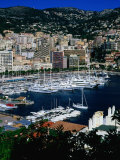 Boats in Port  Monte Carlo  Monaco