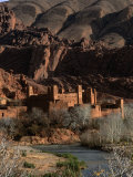 Kasbah in Gorges of Dades Valley  Dades Gorge  Morocco