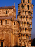 Exterior of Torre Di Pisa (Leaning Tower of Pisa)  Pisa  Italy