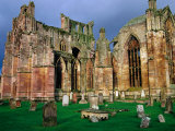 Melrose Abbey Was Founded in 1131 by David I & the Cistercian Monks from France  Melrose  Scotland