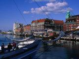 Malmo Harbour  Malmo  Skane  Sweden