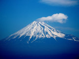 Snow Capped Mt Fuji  Mt Fuji  Japan