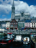 St Coleman's Cathedral and Port of Cobh  Cobh  Ireland