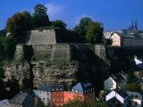 Citadelle Du St Espirit  Grund and Upper Town  Luxembourg  Luxembourg