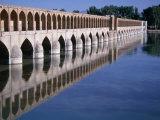 Si-O-Se Bridge  Bridge of 33 Archs  Esfahan  Iran