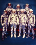 The 7 Mercury Astronauts  1959