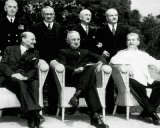 "The new ""Big Three"" at the Potsdam Conference  1945"
