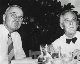 Harry Truman and Franklin D Roosevelt