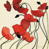 Poppies and Cream II