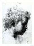 Portrait of a Child Seen in Profile  Gabinetto Dei Disegni E Delle Stampe  Uffizi Gallery  Florence