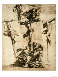 Study for the Crucifixion  Gallerie Dell'Accademia  Venice
