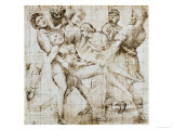 Preparatory Drawing for the Baglioni Altarpiece