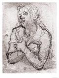 Study of the Madonna  Gabinetto Dei Disegni E Delle Stampe  Uffizi Gallery  Florence