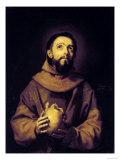 St Francis  Palatine Gallery  Pitti Palace  Florence
