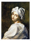 Portrait of Beatrice Cenci  Housed in the Galleria Nazionale d&#39;Arte Antica  Rome