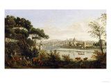 View of Florence  Palatine Gallery  Palazzo Pitti  Florence