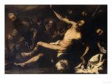 Martyrdom of Saint Bartholomew  Palatine Gallery  Pitti Palace