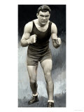 Portrait of the German Boxer Max Schmeling