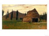 Landscape  Silvestro Lega  National Modern Art Gallery  Florence