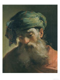 Head of an Old Man in a Turban  Vasari Corridor  Uffizi Gallery  Florence