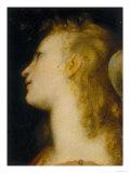 Angel's Head  Palatine Gallery  Palazzo Pitti  Florence