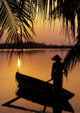 Vietnam  Cantho on the Mekong River