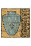 Square Cerulean Pottery II