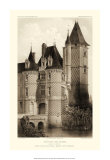 Small Sepia Chateaux VII