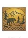 Lodge Bear Silhouette