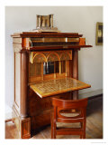 A Wooden Secretary Designed by Schinkel