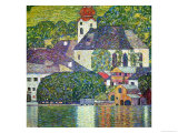 Kirche in Unterach Am Attersee, Church in Unterach on Attersee Giclée par Gustav Klimt