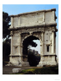 General View  Erected by Emperor Domitian in 81 Ad in Memory of the Conquest of Jerusalem in 70 AD