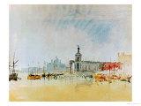 Como and Venice Sketchbook (Finberg CLXXXI) Venice: The Punta della Dogana 1819