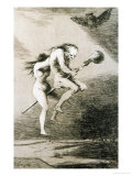 Linda Maestra  Gentle Mistress  Etching No 68 from the Caprichos  Around 1798