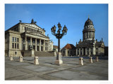 Schauspielhaus (1821)  Gendarmenmarkt  Berlin  in the Style of a Greek Temple