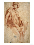 Study for the Phrygian Sibyl  1511-1512