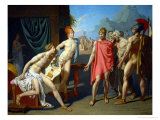 Achilles Greets the Ambassadors of Agamemnon  1800