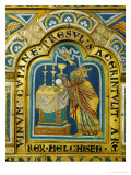 The Sacrifice of Melchizedek  Verdun Altar  Begun 1181  Enamel