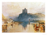 Norham Castle  on the River Tweed  Circa 1822-3  Watercolour on Paper