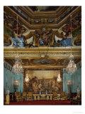 Salon Des Muses  Trompe-L'Oeil Ceiling with Murals  at Vaux-Le-Vicomte  after 1641