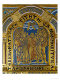 Ascension of Christ  Verdun Altar  Begun 1181  Enamel