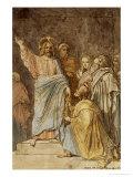 Christ Handing the Keys to Saint Peter  Dated 1815